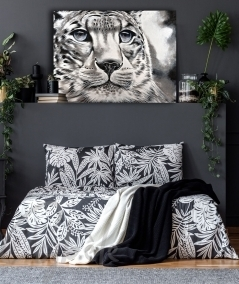 Peinture animalière intérieure tête de tigre dit Maturité