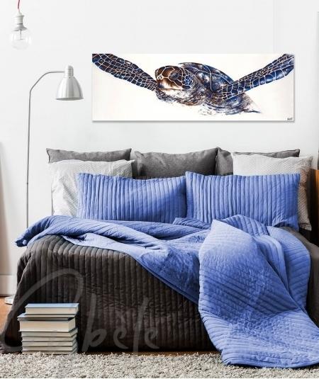 Peinture intérieure chambre tortue dit Turtle