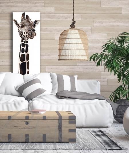 Reproduction animalière salon girafe dit Sophie